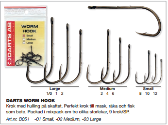 WORM HOOK-Small