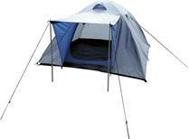 Tält kupol 190T 5000mm 190T andning grå/blå
