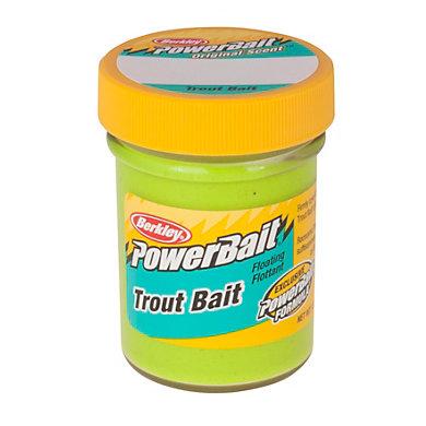 Berkley Power Bait Trout Bait Jar Chartreuse