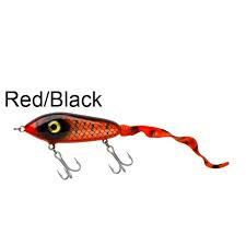 Svartzonker Big McMy Tail Slow S. 78g Red/Black