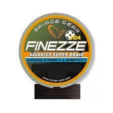 Savage Gear Finezze HD4 Braid 120m 0.13mm 17lbs 7.8kg Yellow