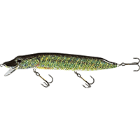 PIKE LIMITED EDITION WOBBLER 12cm