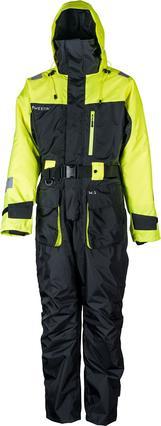 W3 Flotation Suit S Jet Black Lemon