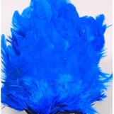 Hen Patches/Soft Hackle - Silver Doc. Blue