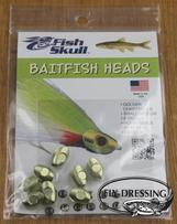 BAITFISH HEAD - GOLDEN CHARTREUSE - SMALL