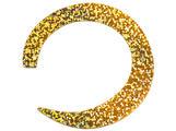 Jumbo Wiggle Tails Slim - Holographic Gold