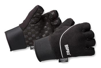 Rapala Handske Stretch half finger Grå XL