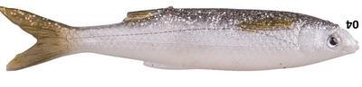 Savage Gear LB 3D Bleak Real Tail 10.5cm 8g 5pcs 05-White Silver