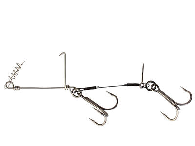 Savage Gear Cork Screw Shad Spin Rig L #1/0 - 1pcs