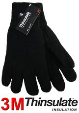 Eiger Knitted Glove (thinsulate) XL Black
