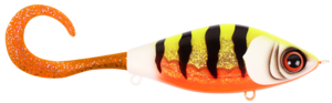 Guppie Jr, 11cm, 70g - Sparkle Pony - Orange / Gold glitter