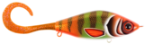 Guppie Jr, 11cm, 70g - Three Kings - Orange / Gold glitter