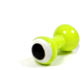 Double Pupil Lead Eyes - Chartreuse/White/Black