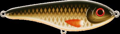 Buster Jerk, shallow, 15cm, Golden Olive