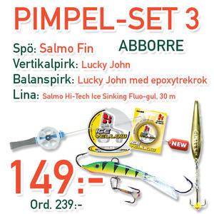 Pimpelset 3 - Abborre