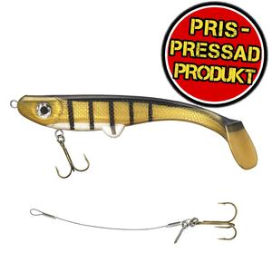 Maxximus Predator Softy Conrad 20cm 55g Black/striped yellow/white READY-TO-FISH