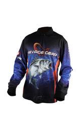 Savage Gear Tournament Jersey Seabass/Tuna Blue XXL
