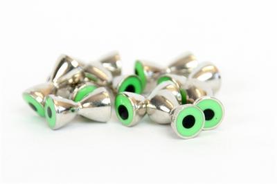 Reel Eyes 4.0mm - Nickel / Green eye