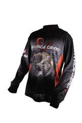 Savage Gear Tournament Jersey Pike/Zander/Perch Black XL