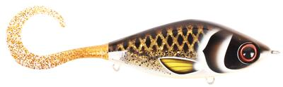 Guppie Jr, 11cm, 70gr - Spotted Bullhead - Gold Glitter