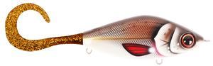 Guppie DS, 9cm, 35gr - Brown Shugga - Motoroil Glitter
