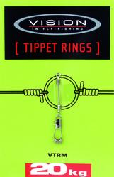 TIPPET RINGS, Small 12kg. test