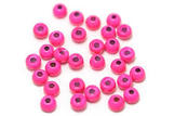 Brass beads 4.0mm - Fluo Pink
