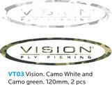 VISION Sticker Camo 120mm 2 pieces
