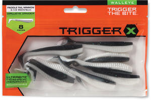 "Trigger X Paddle Tail Minnow 3,5"" SD"
