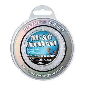 Savage Gear Soft Fluoro Carbon 1.0mm 15m 111lb 50.5kg