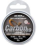 Savage Gear Carbon49 0.60mm 16kg 35lb Coated Grey 10m