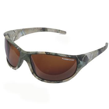 Polariserande solglasögon Wild Camo, lins Bärnsten