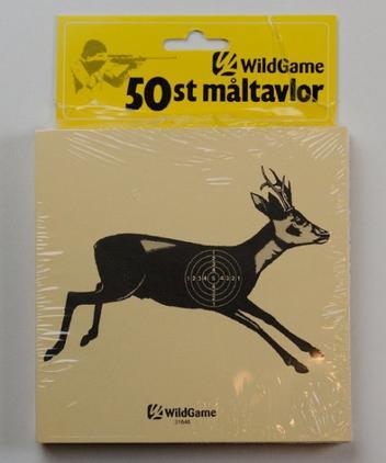 Wild Game Tavlor Rådjur