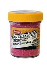Glitter Trout Bait Jar Pink