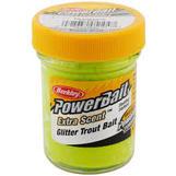 Glitter Trout Bait Jar Chartreuse