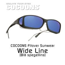COCOONS FITOVER WIDE LINE BLUE MIRROR