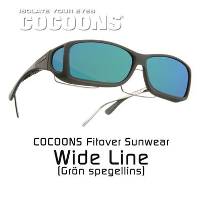 COCOONS FITOVER WIDE LINE GREEN MIRROR