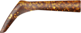 Bandit Paddle Tail, Spare Paddle, Gold Glitter -  2pcs