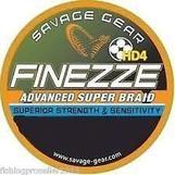 Savage Gear Finezze HD4 Braid 120m 0.06mm 7lbs 3.3kg Yellow