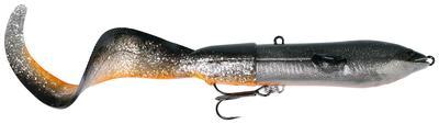 SG 3D Hard Eel Tail Bait 25cm 109g SS 01-Dirty Silver